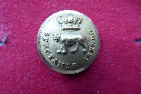 1st Madras European Regiment, Fusiliers. Officer's gilt 25mm.