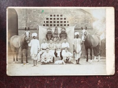 Army Drivers in India, late 19th century
