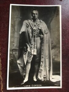 Lord Curzon, Viceroy of India at the 1903 Delhi Coronation Durbar