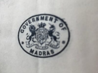 Madras Government. Appointment to the Governor's Council, 1901. 2 items