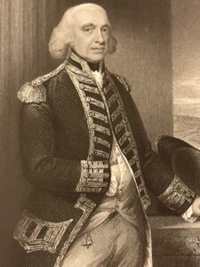 Admiral of the Fleet Richard, 1st Earl Howe [1726-1799] after Gainsborough