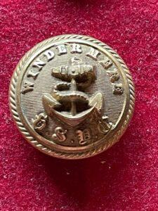 Windermere Steam Yacht Company fine gilt  26mm button