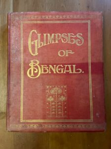 Heavily illustrated book on the Province of Bengal