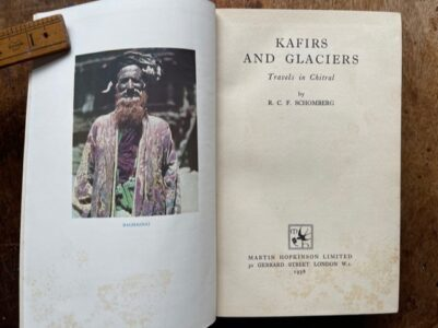 Travels in Chitral. A scarce book on the area.